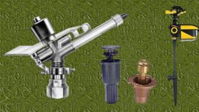 Aspersores en diferentes modelos for Aspersores de agua para jardin