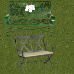 Bancos de forja para jardin dise o exterior for Bancos de forja para jardin