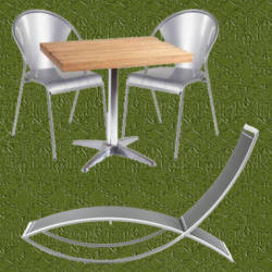 Catalogo de muebles de aluminio para jardin informacion y for Aluminio productos de fundicion muebles de jardin