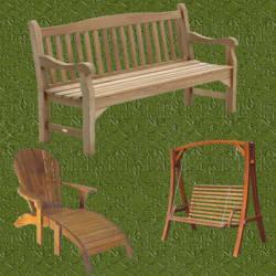 Muebles de jardin pergolas de madera casetas de madera - Muebles de jardin ...