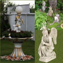 Decoracion Con Estatuas En El Jardin En Diferentes Disenos - Estatuas-de-jardin