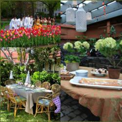 Decoracion para bodas fiestas en parques y jardines for Adornos para parques y jardines