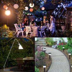 Decoracion de jardines con faroles en diferentes materiales - Faroles de jardin ...