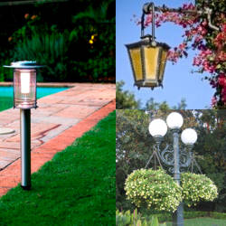 Faroles de jardin exterior trabajo exterior with faroles for Faroles solares para jardin
