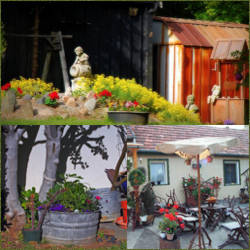 adorna de parques rusticos senderos jardines