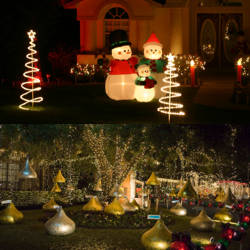 decoracion jardin navidad 2016