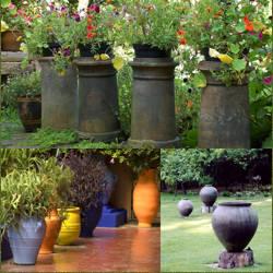 Imagenes de jardines con macetas informacion y fotos - Jardin con macetas ...