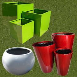 Maceteros en fibras de vidrio maceteros fibra de vidrio - Maceteros de resina ...