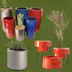 Pin macetas en fibra de coco y adherentes biodegradables - Macetas fibra de vidrio ...