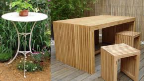 Mobiliario De Jardineria En Distintos Materiales - Mobiliario-de-jardineria