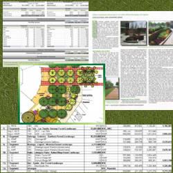 Jardineria paisajista for Proyecto de jardineria