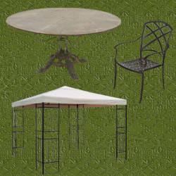 Muebles metalicos de dise o dragtime for for Cobertizos metalicos para jardin