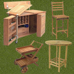 Mueble para bar awesome mueble para bar with mueble para for Bar de madera para jardin