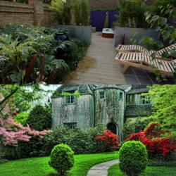 Paisajismo en jardines particulares para jardines y patios for Paisajismo jardines fotos