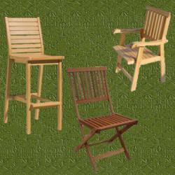 Sillas para jardin de madera esteticas y resistentes - Sillas para jardin ...