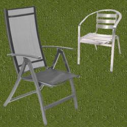 Sillas jardin aluminio dise os arquitect nicos for Sillas para jardin baratas