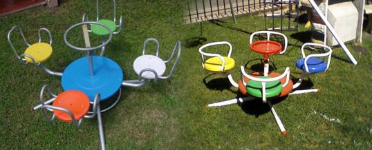 calesitas para el jardín