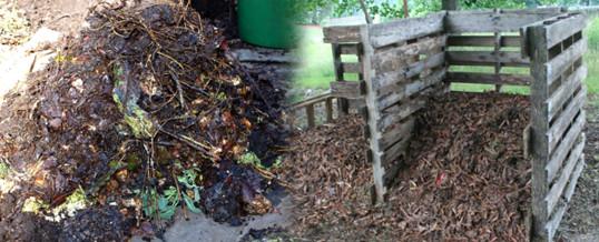 compost casero para le jardin