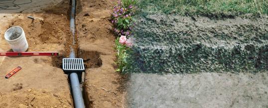 drenaje del suelo