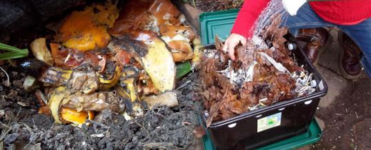 materia organica para el suelo del jardin