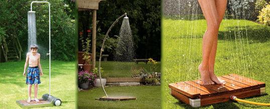 Las modernas duchas para jard n - Ducha para jardin ...