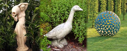 estatuas de jardín